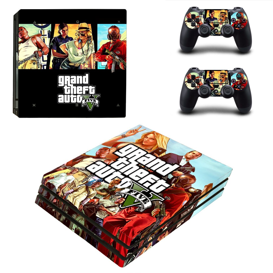 GTA PS4 Pro Skin Sticker Wrap