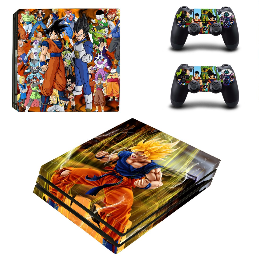 Dragon Ball PS4 Pro Skin Sticker Wrap