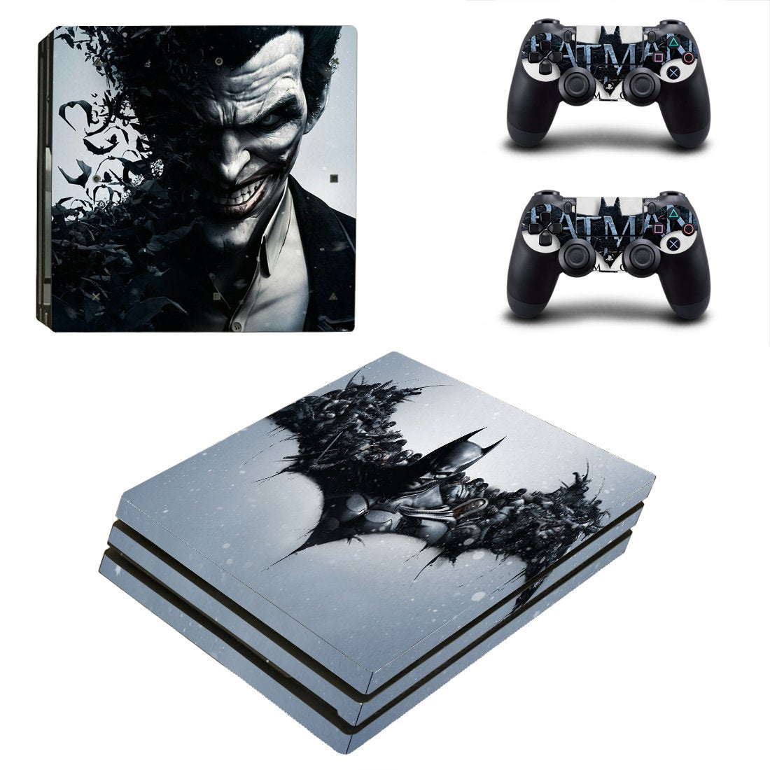 Batman PS4 Pro Skin Sticker Wrap