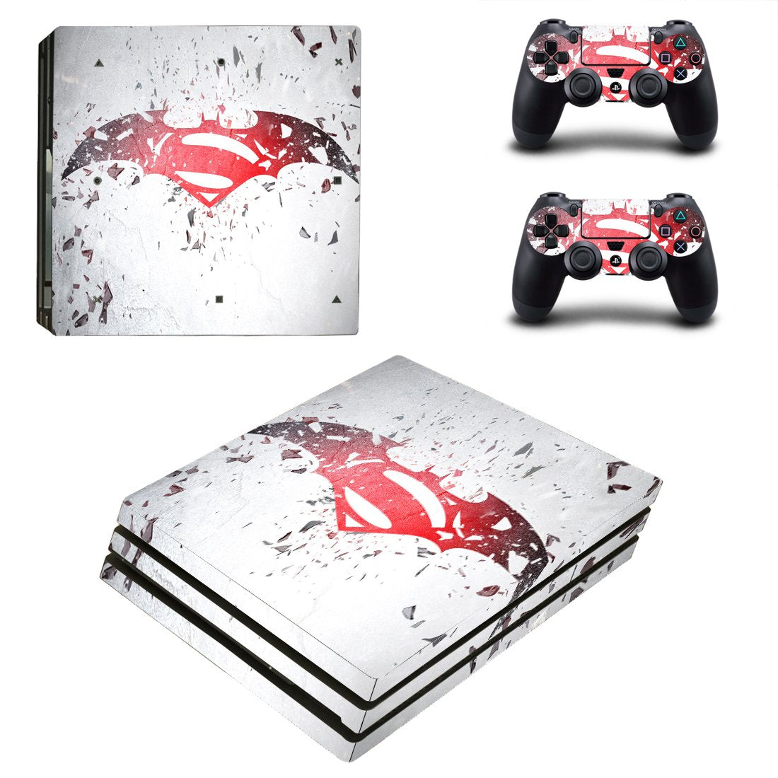 Superman PS4 Pro Skin Sticker Wrap