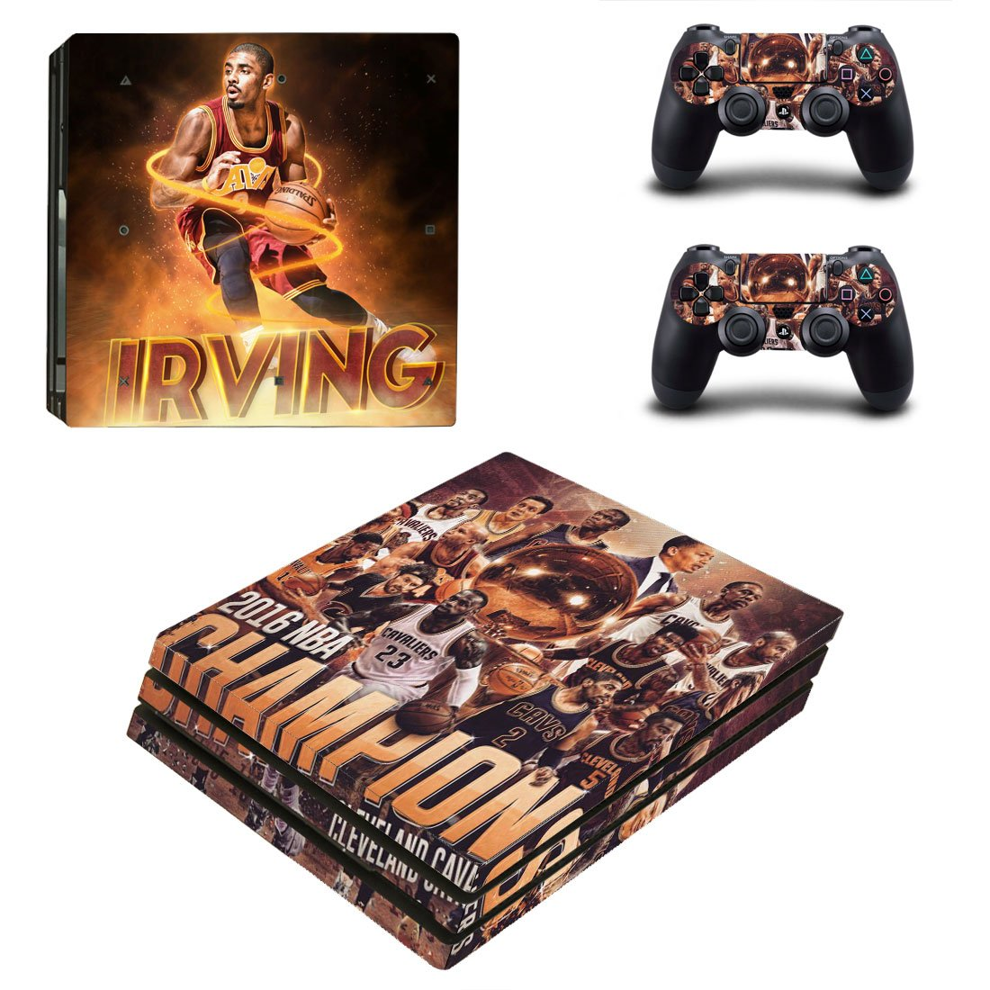 Cleveland Cavaliers PS4 Pro Skin Sticker Wrap