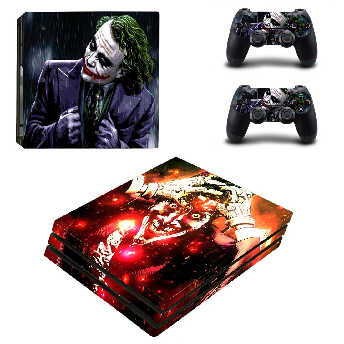 Joker PS4 Pro Skin Sticker Wrap