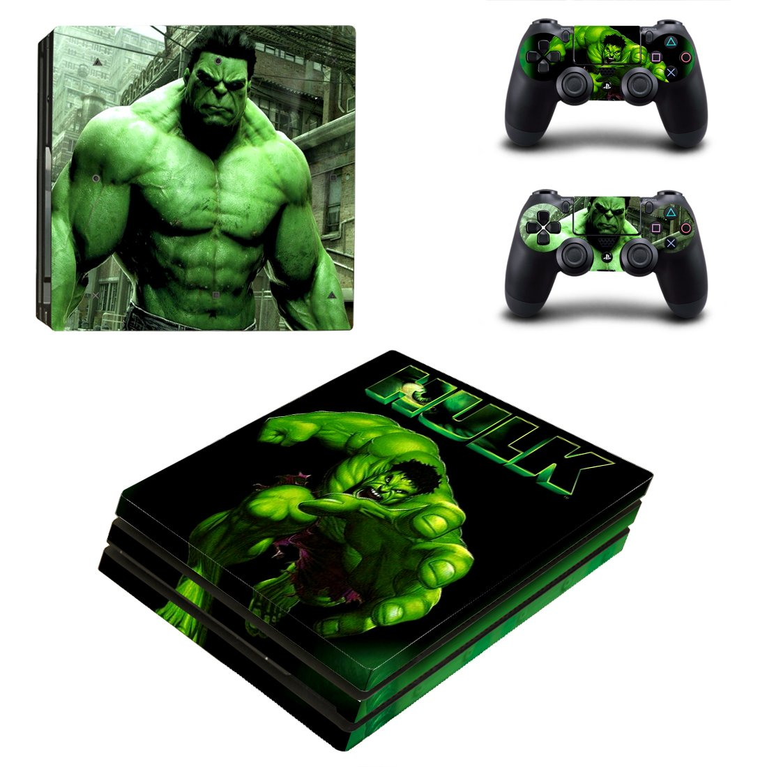 Hulk PS4 Pro Skin Sticker Wrap
