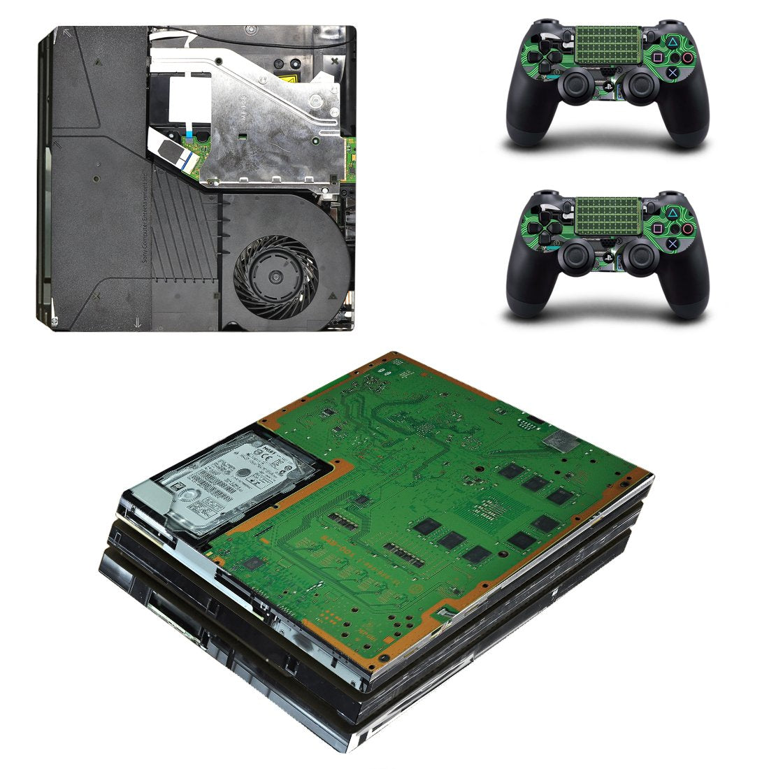 PlayStation Design PS4 Pro Skin Sticker Wrap