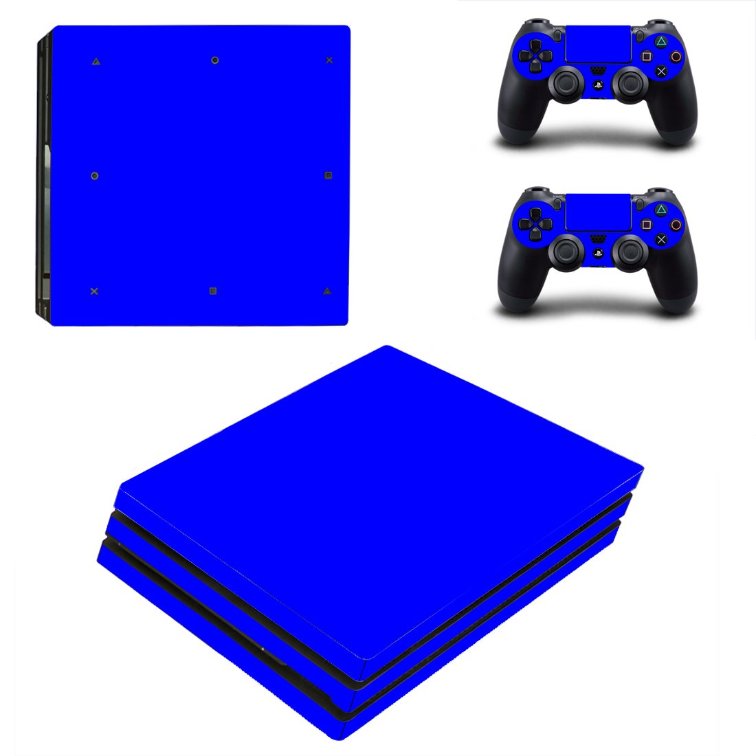 Solid Colours PS4 Pro Skin Sticker Wrap