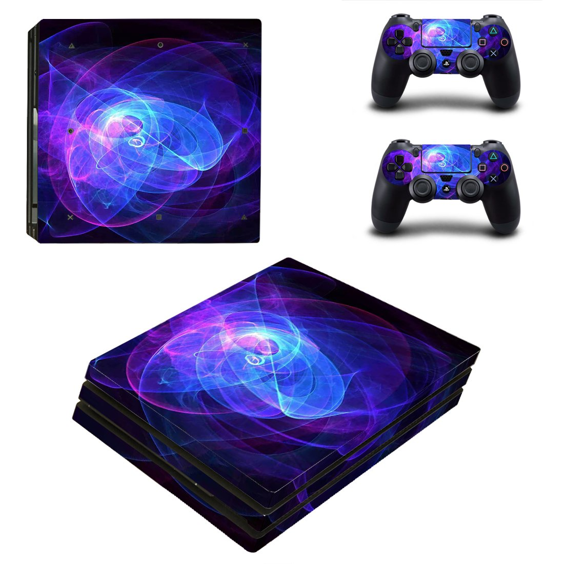 Galaxy PS4 Pro Skin Sticker Wrap