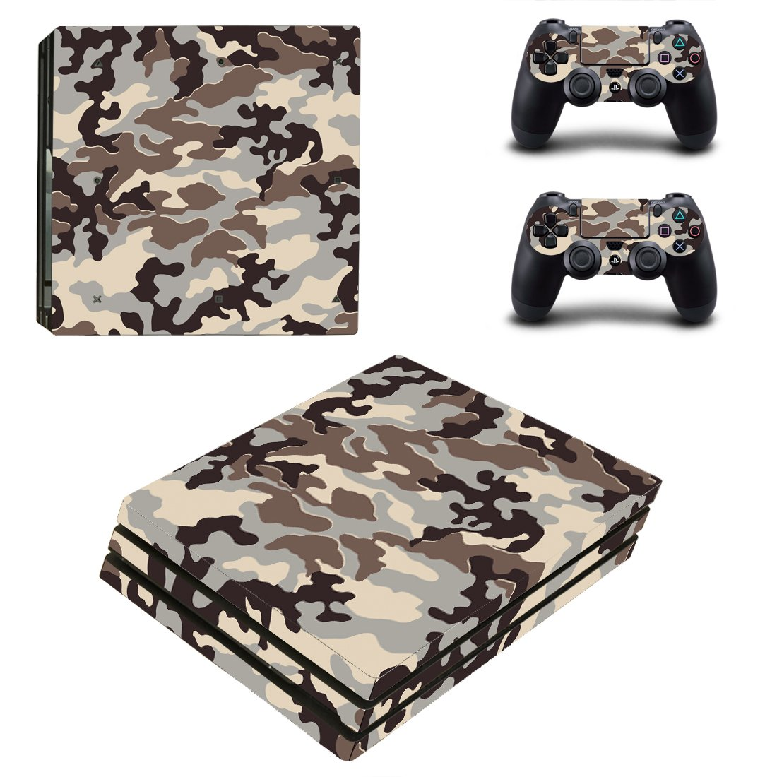 Camo PS4 Pro Skin Sticker Wrap