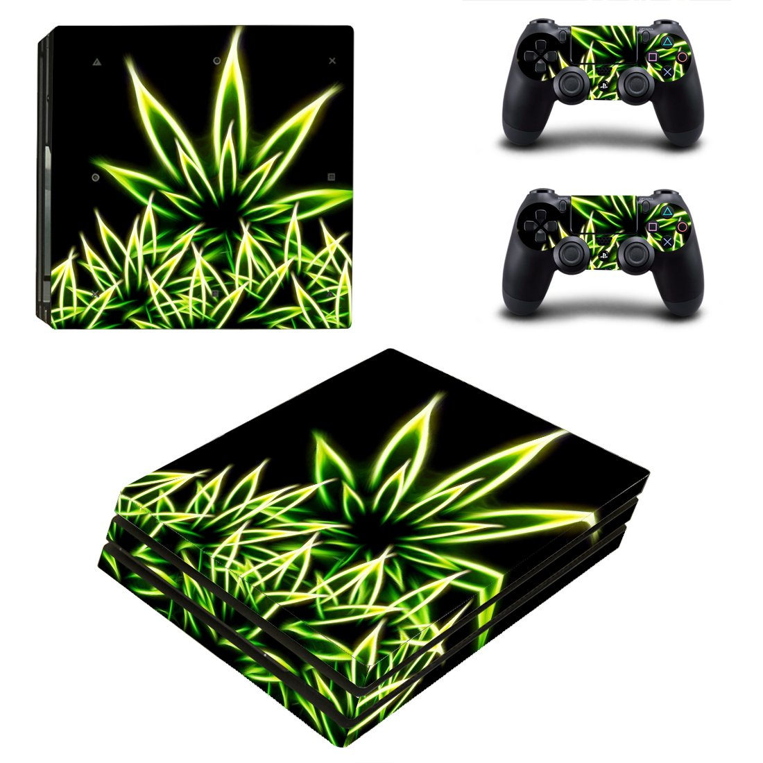 Weed PS4 Pro Skin Sticker Wrap