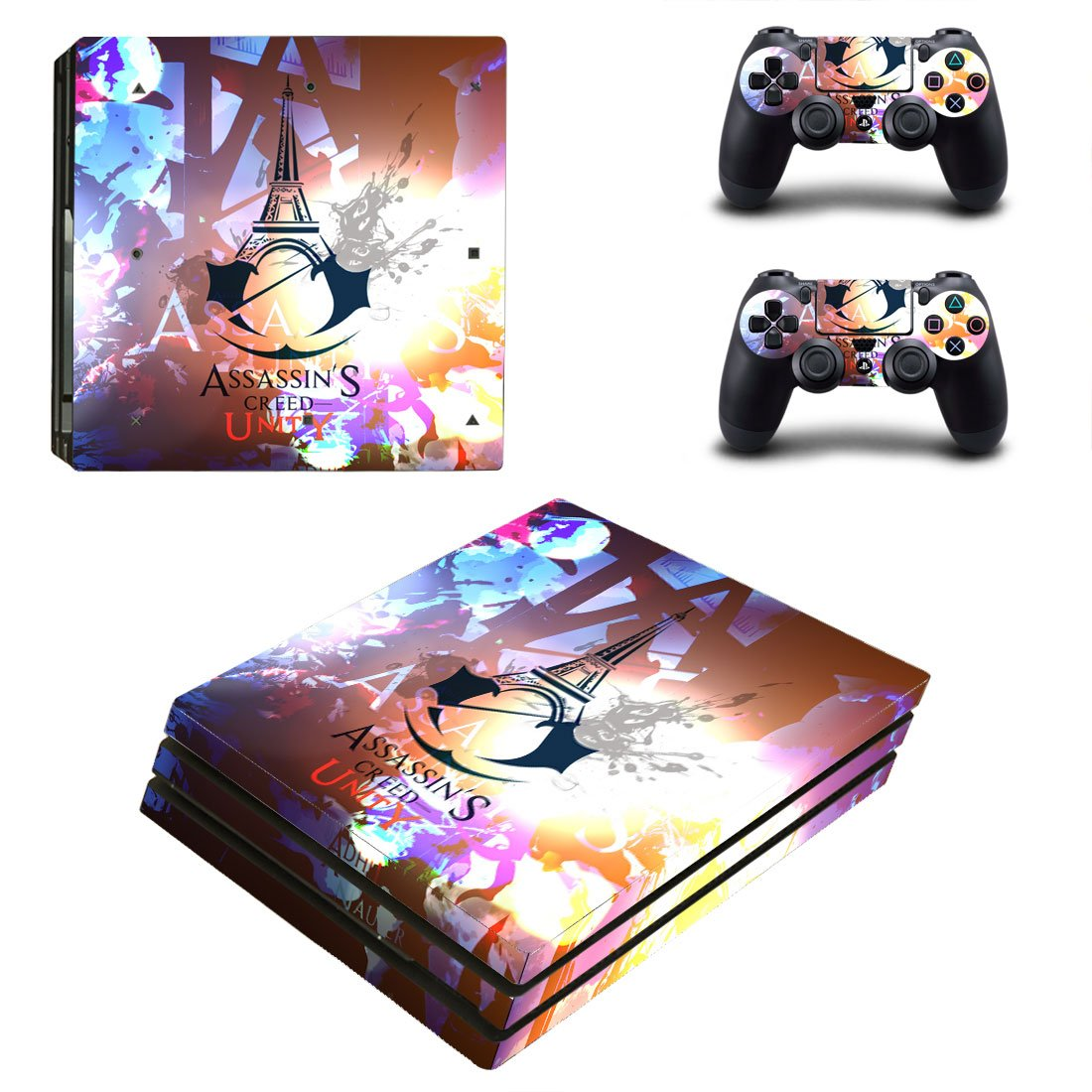 Assassins Creed PS4 Pro Skin Sticker Wrap