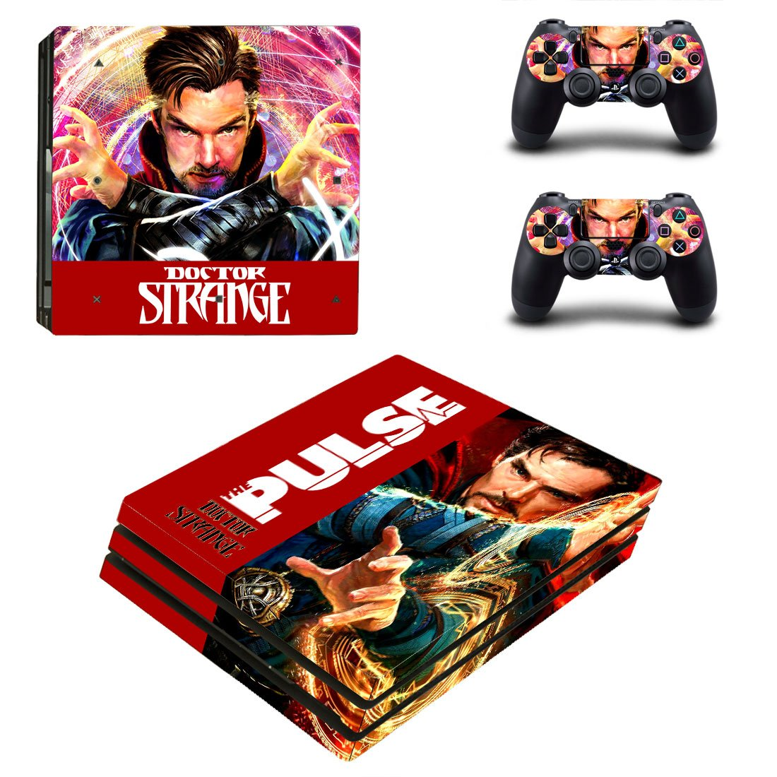 Dr Strange PS4 Pro Skin Sticker Wrap