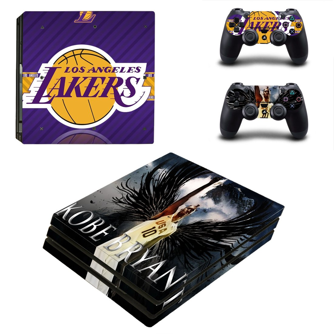 LA Lakers PS4 Pro Skin Sticker Wrap