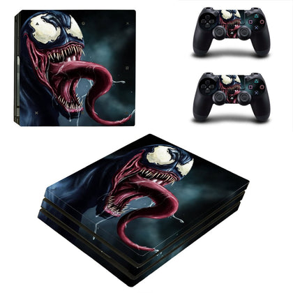PlayStation PS4 Pro Venom Skin Sticker - Superhero Vinyl