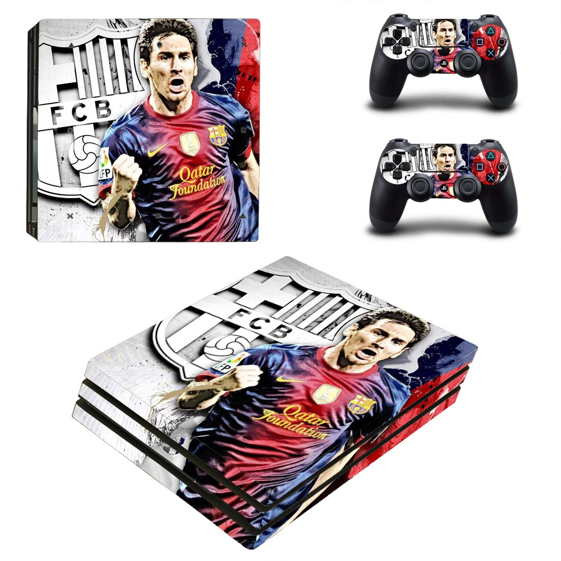 Barcelona PS4 Pro Skin Sticker Wrap