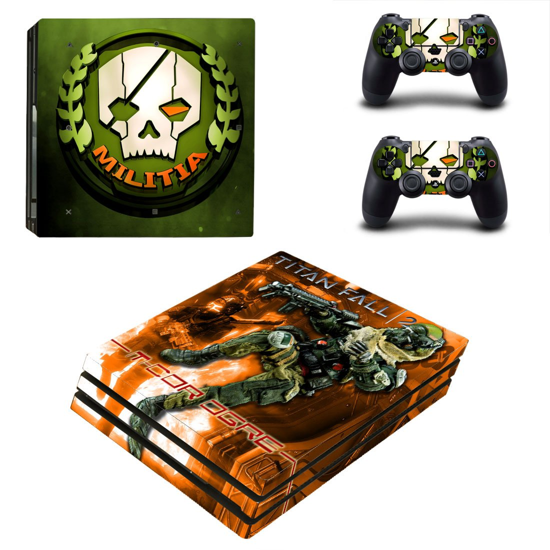 Titanfall PS4 Pro Skin Sticker Wrap