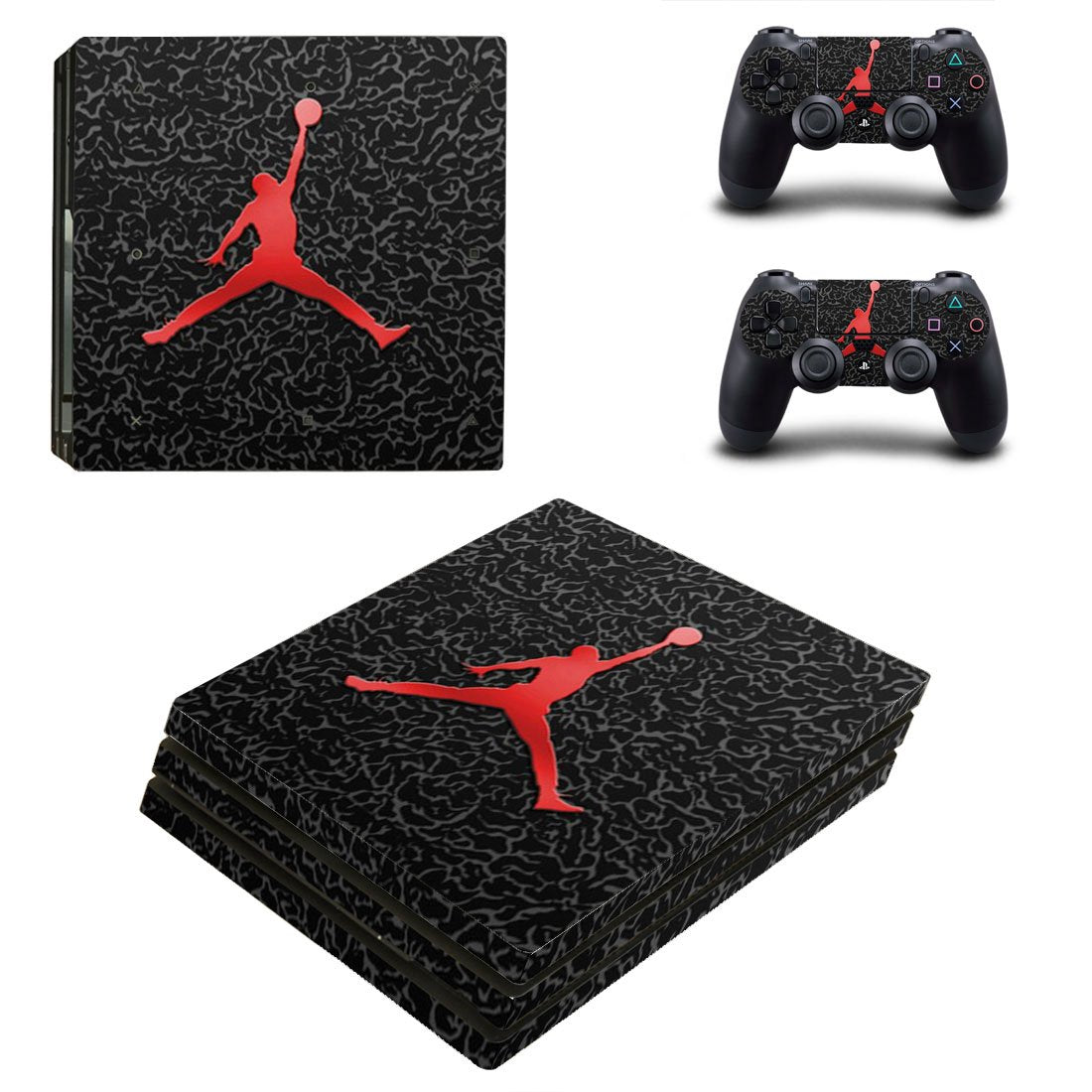Nike PS4 Pro Skin Sticker Wrap