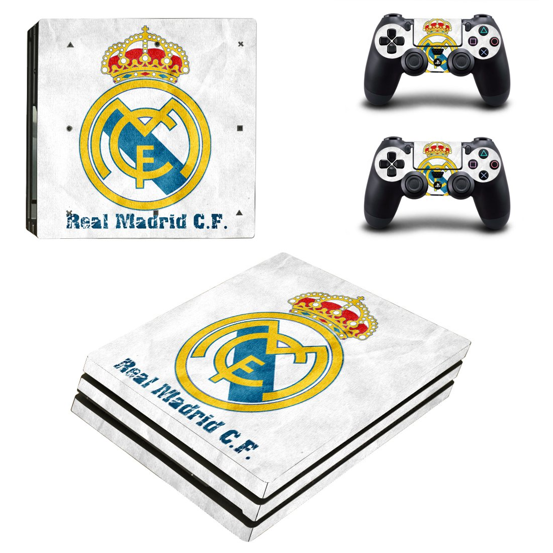 Real Madrid PS4 Pro Skin Sticker Wrap