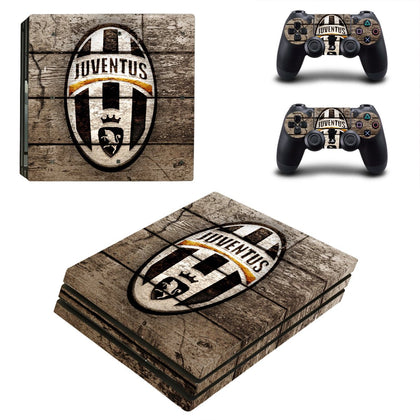 PlayStation PS4 Pro Juventus Skin Sticker - Sport Vinyl