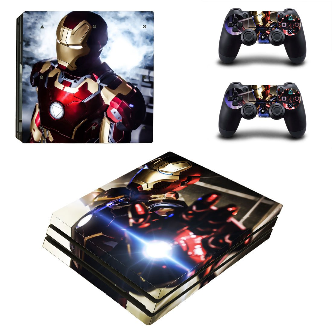 Iron Man PS4 Pro Skin Sticker Wrap