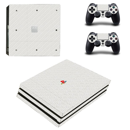 PlayStation PS4 Pro PlayStation Design Skin Sticker - Design Vinyl