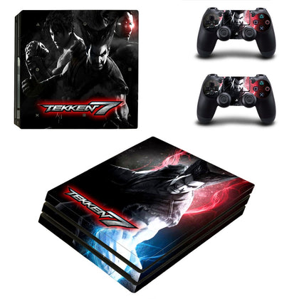 PlayStation PS4 Pro Tekken Skin Sticker - Game Vinyl