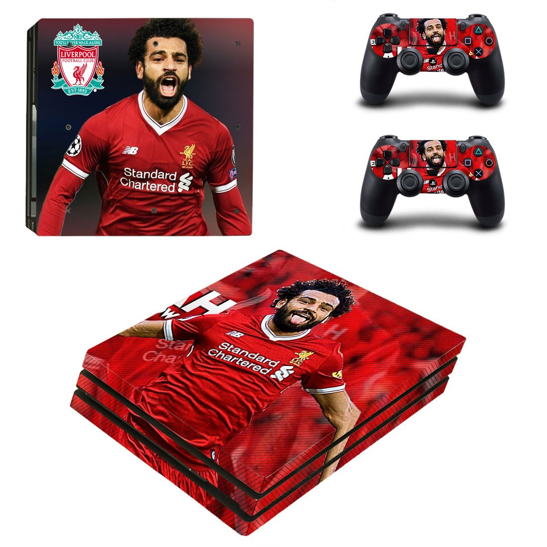 Liverpool PS4 Pro Skin Sticker Wrap