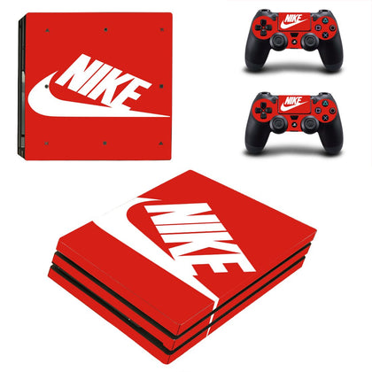 PlayStation PS4 Pro Nike Skin Sticker - Popculture Vinyl