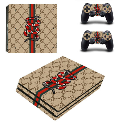 PlayStation PS4 Pro Gucci Skin Sticker - Popculture Vinyl