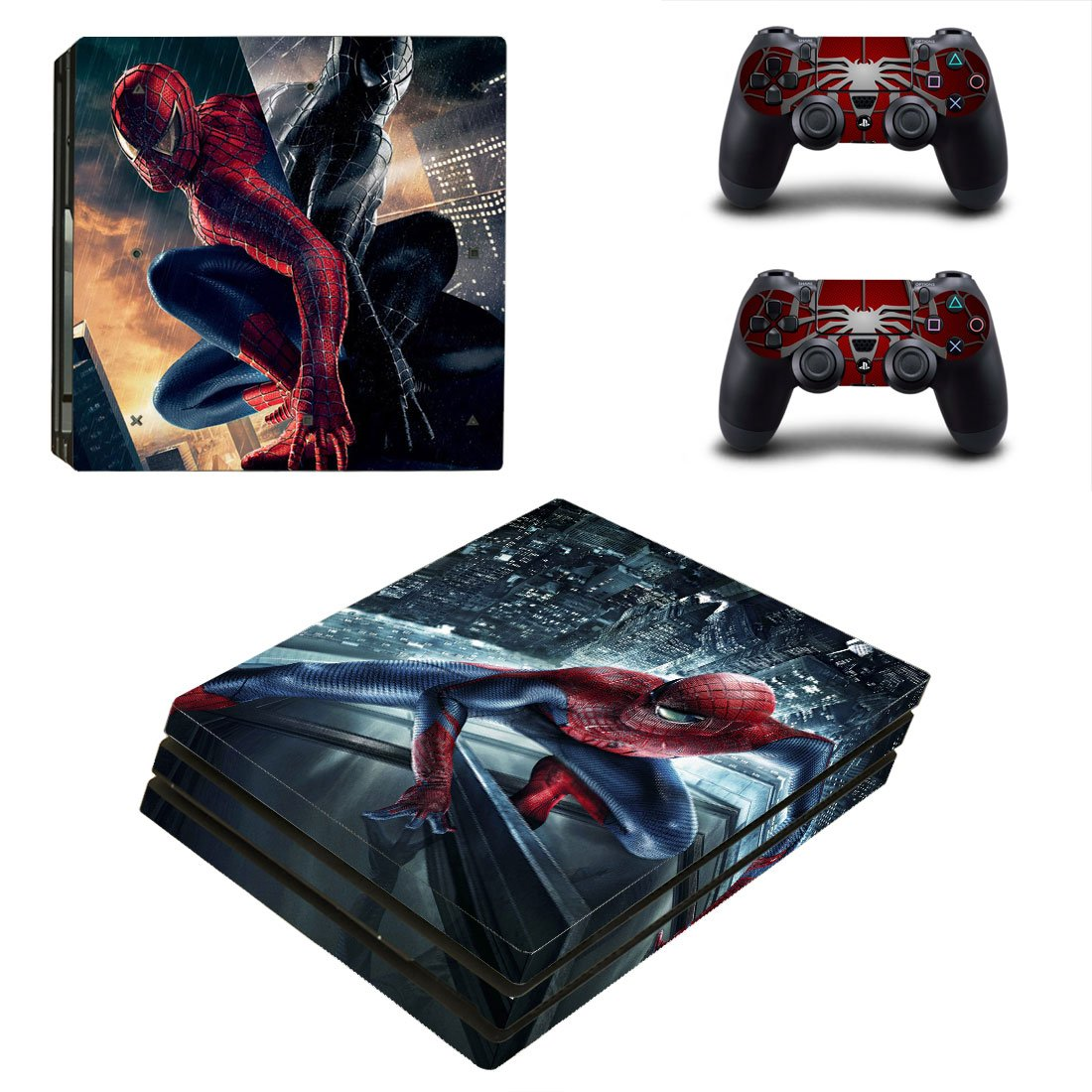 Spider-Man PS4 Pro Skin Sticker Wrap