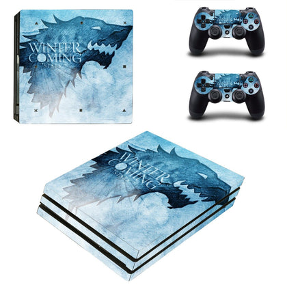 PlayStation PS4 Pro Game Of Thrones Skin Sticker - Popculture Vinyl