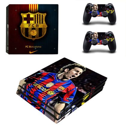 PlayStation PS4 Pro Barcelona Skin Sticker - Sport Vinyl