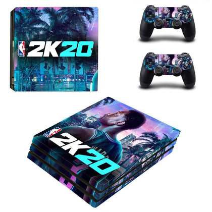 PlayStation PS4 Pro NBA 2K Skin Sticker - Game Vinyl