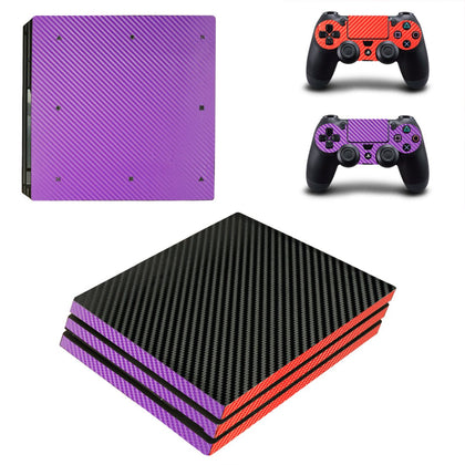 PlayStation PS4 Pro Solid Colours Skin Sticker - Design Vinyl