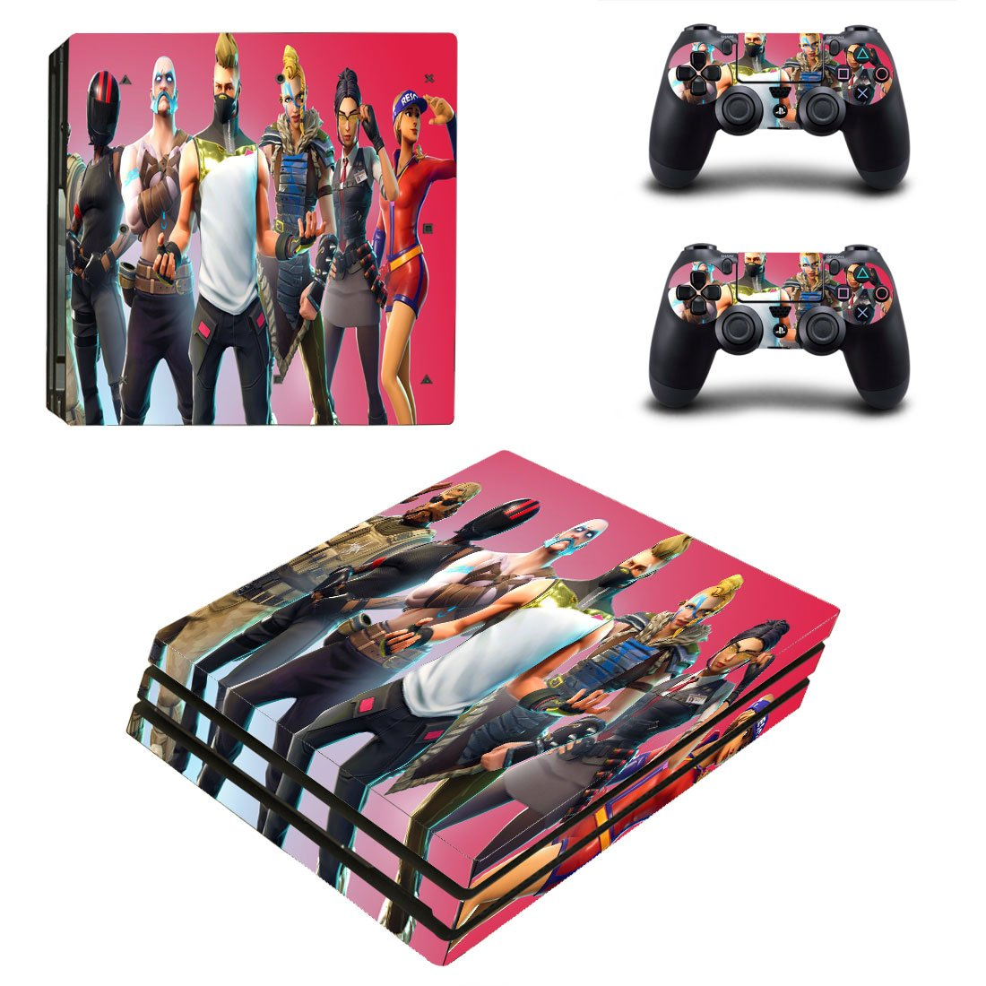 Fortnite PS4 Pro Skin Sticker Wrap