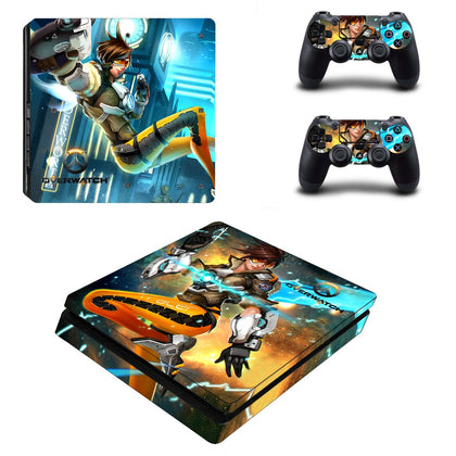 PlayStation PS4 Slim Overwatch Skin Sticker - Game Vinyl