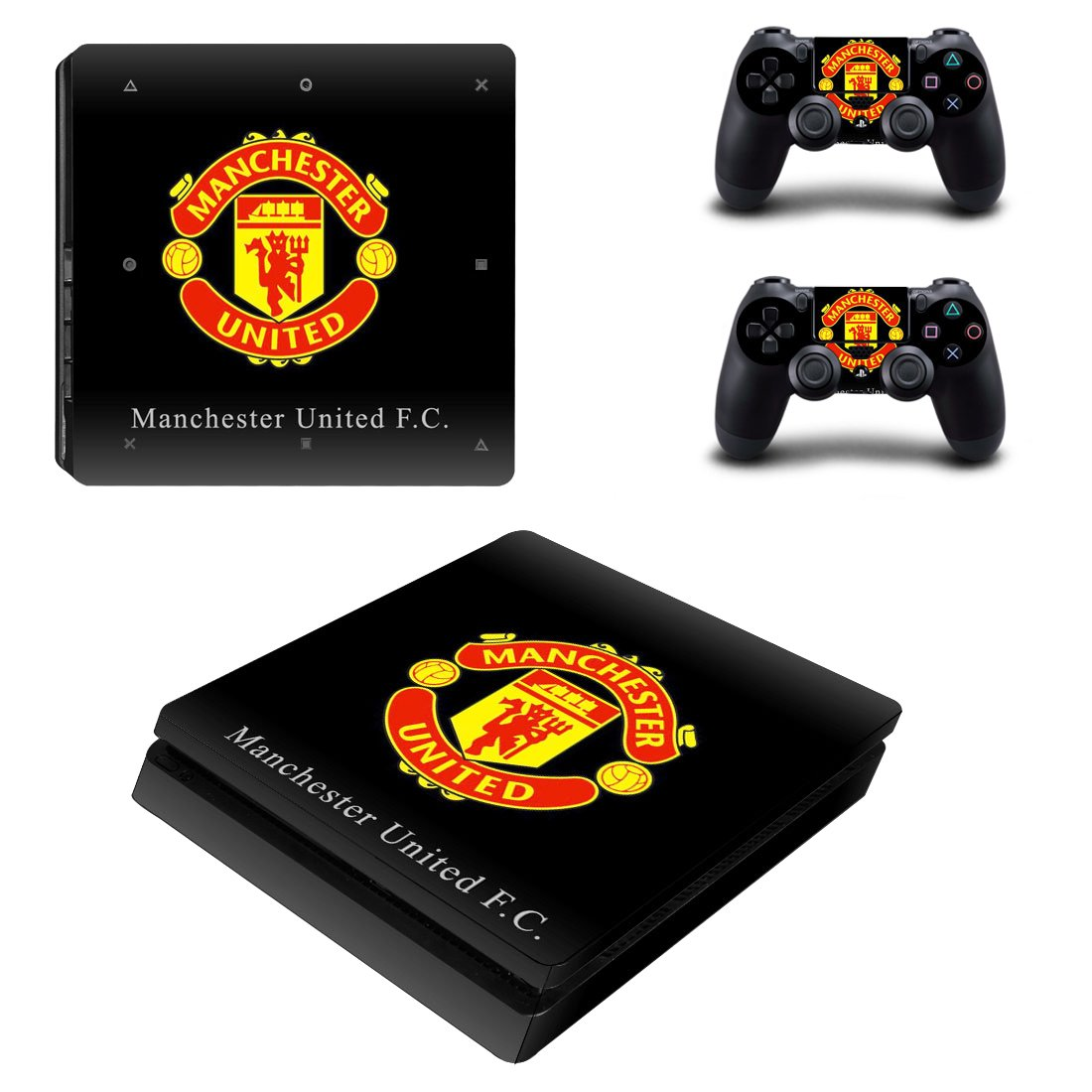 Manchester United PS4 Slim Skin Sticker Wrap