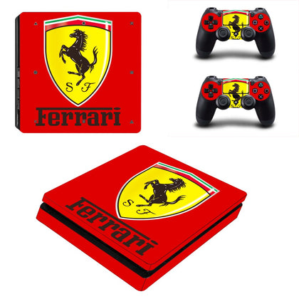 PlayStation PS4 Slim Ferrari Skin Sticker - Popculture Vinyl