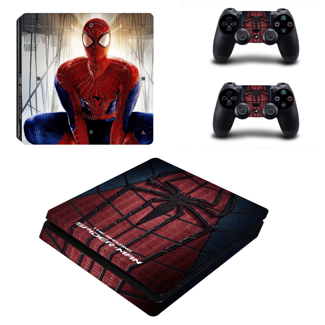 Spider-Man PS4 Slim Skin Sticker Wrap