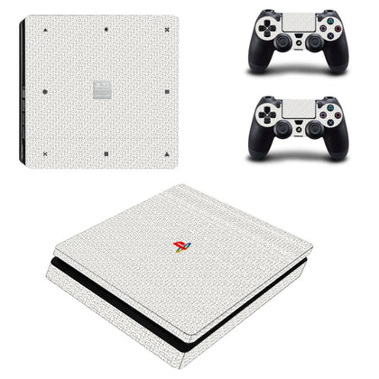 PlayStation PS4 Slim PlayStation Design Skin Sticker - Design Vinyl