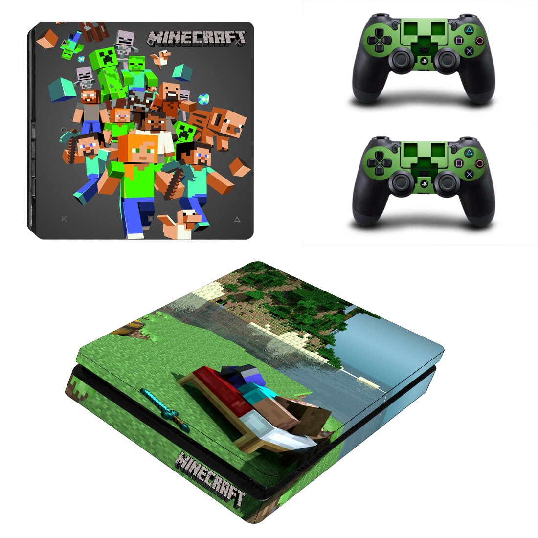 Minecraft PS4 Slim Skin Sticker Wrap