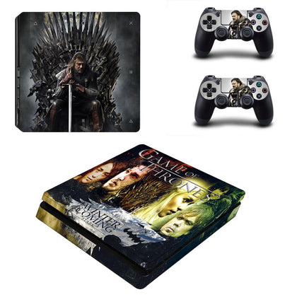 PlayStation PS4 Slim Game Of Thrones Skin Sticker - Popculture Vinyl