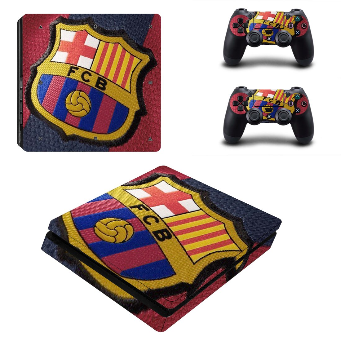 Barcelona PS4 Slim Skin Sticker Wrap