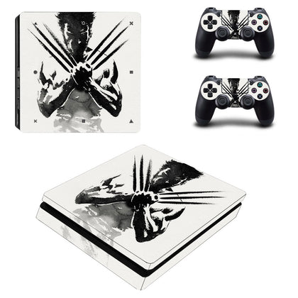 PlayStation PS4 Slim Wolverine Skin Sticker - Superhero Vinyl