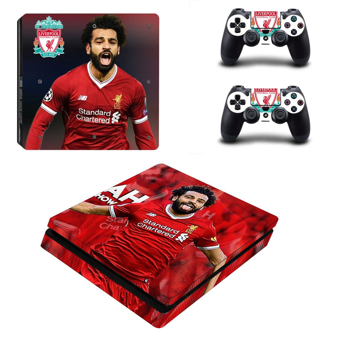 Liverpool PS4 Slim Skin Sticker Wrap