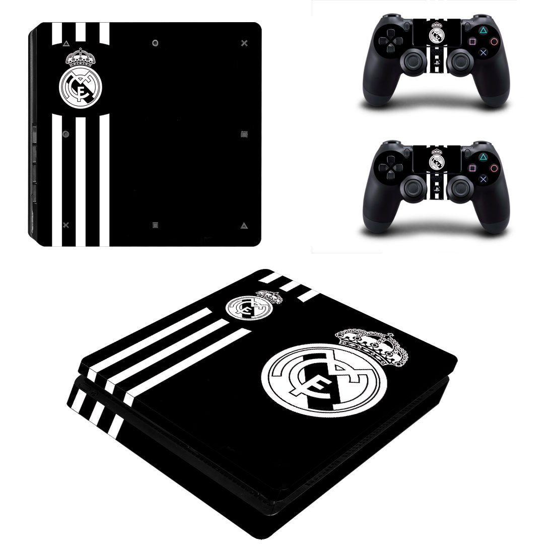 Real Madrid PS4 Slim Skin Sticker Wrap