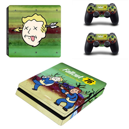 PlayStation PS4 Slim Fallout Skin Sticker - Game Vinyl