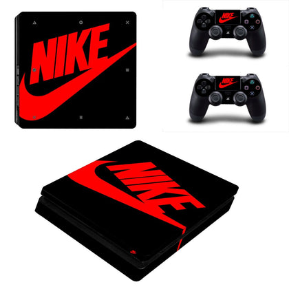 PlayStation PS4 Slim Nike Skin Sticker - Popculture Vinyl