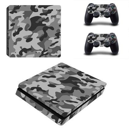 PlayStation PS4 Slim Camo Skin Sticker - Design Vinyl