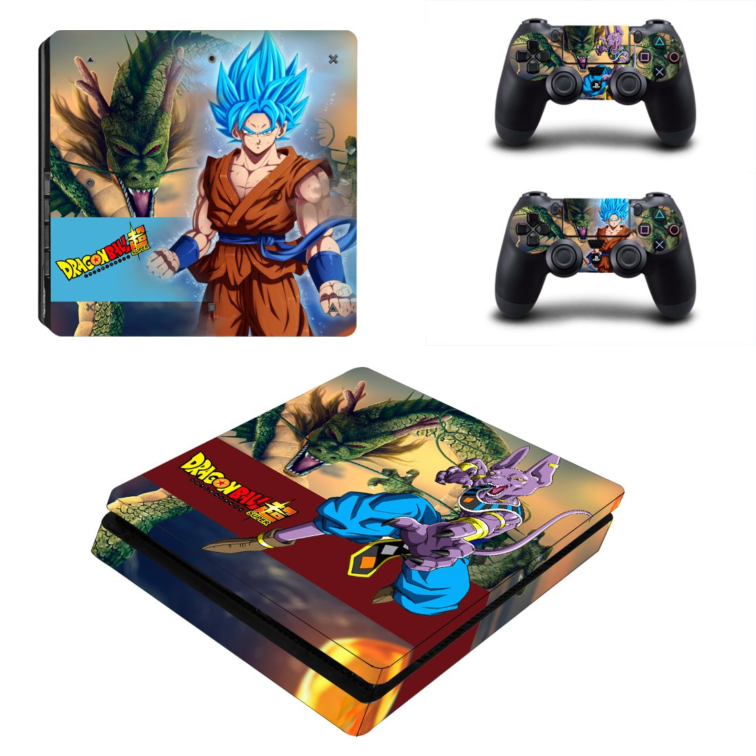 Dragon Ball PS4 Slim Skin Sticker Wrap