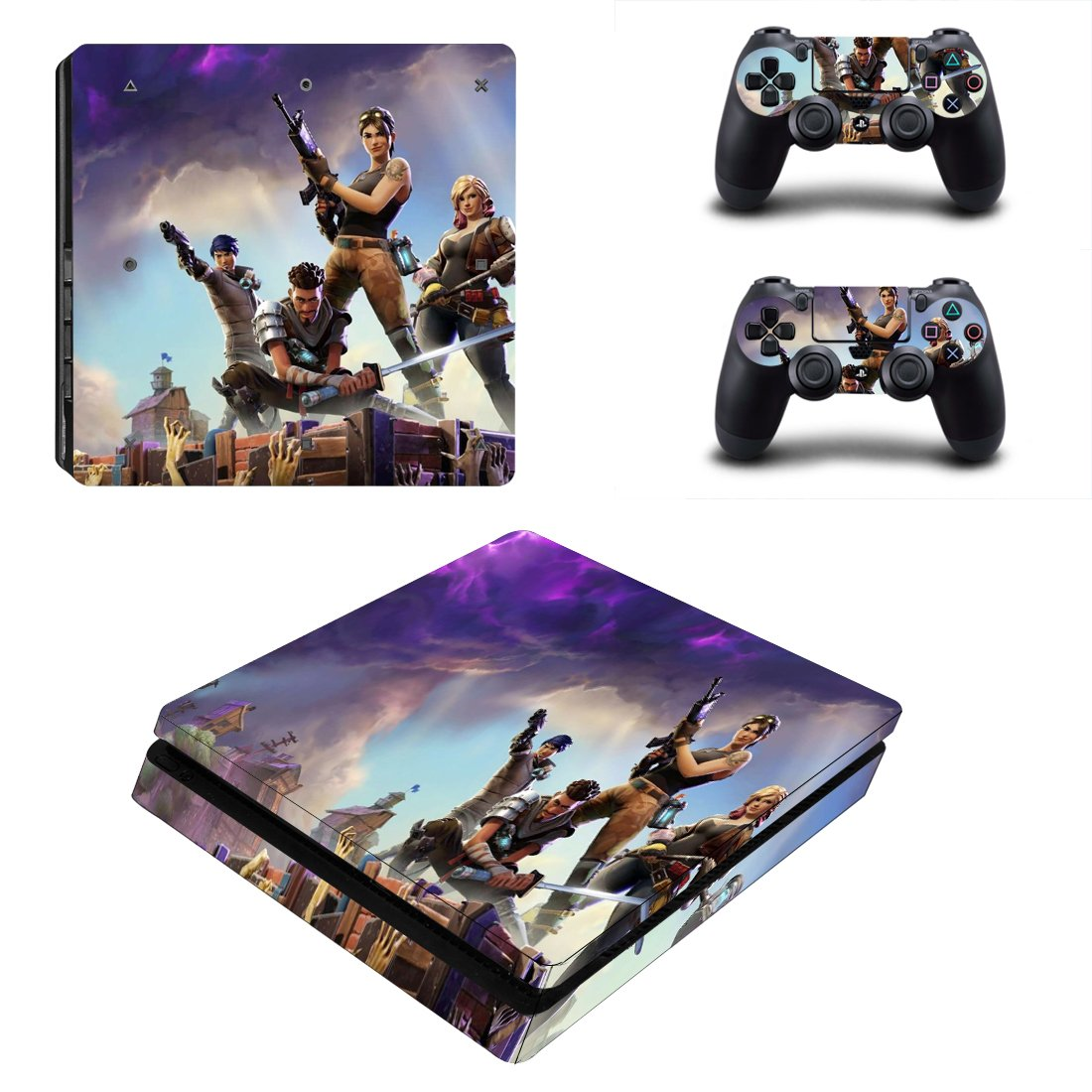 Fortnite PS4 Slim Skin Sticker Wrap