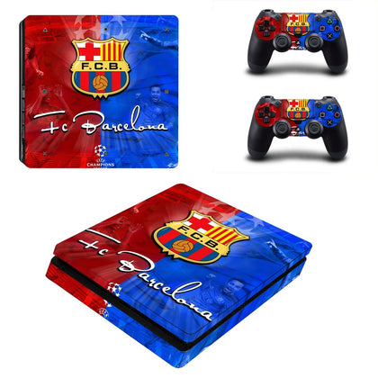 PlayStation PS4 Slim Barcelona Skin Sticker - Sport Vinyl